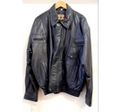Real Leather 340 Waxy Goat Jacket Coat Black Size: XL