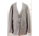 Blue Harbour Cotton Linen Jacket Coat Dark Stone Size: L