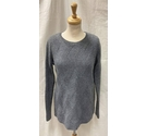 White Company 100% Merino Wool Jumper Grey Size: S