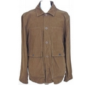 Roamers and Seekers Long casual jacket Tan Size: L