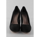 Carvela Kurt Geiger Suede Court Shoes Black Size: 4