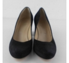 Hobbs Suede Court Shoes Black Size: 6.5