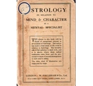Astrology: in relation to mind and character