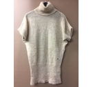 Roberto Verino Mohair Jumper with Gold Thread Light Brown Size: 12