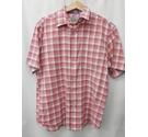M&S Marks & Spencer Checked Shirt Red Size: M