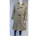 French Connection Trench Coat Beige Size: L