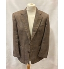 Aquascutum Vintage Mens Tweed Jacket Browns Size: L