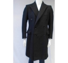 Horne Brothers Wool Overcoat Black Size: M