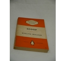 Vintage Orange Penguin Book Scoop by Evelyn Waugh 1954