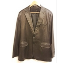 Gieves & Hawkes Classic Leather Jacket Black Size: L