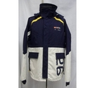 Quba Technical Sailing Jacket Cream/Navy Size: L