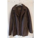 Rudd and Gunn Heavy Leather Jacket Brown Size: L