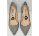 Dorothy Perkins Stiletto Heels Light Grey Size: 6