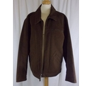 Fraser Casual Jacket Brown Size: M