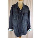 Elisabeth Denim Jacket Blue Size: XXL