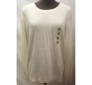 New M&S Collection Long Sleeve Fine Knit Winter Jumper Cream Size: 12