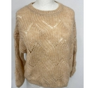 Only Brand New Loose Knitted Jumper Peach Size: M