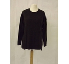 Hobbs wool cashmere blend thin knit stretch jumper sweater forest green Size: M