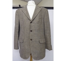 Feraud Mens Tweed Blazer Brown/Green Size: XXXL