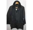 Vintage Barbour Early 90s Beaufort jacket Navy Blue Size: S