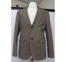 Topman Mens smart blazer Brown Size: L