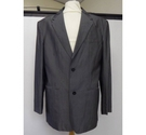 Mike Rodriguez Mens smart suit jacket Grey Size: XL