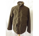 Timberland utility safari coat jacket bomber smart pockets khaki brown Size: L