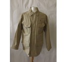 Timberland cotton safari coat utility jacket hiking pockets cream beige Size: M