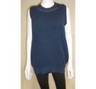 Jaeger Knitted top Dark Blue Size: M