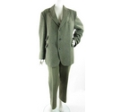 Brook Taverner wool mix suit bark brown Size: XL