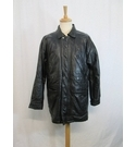 Unbranded leather coat black Size: M