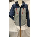 Cross Ski Waterproof Jacket Blue Size: M