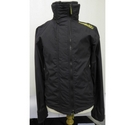 Superdry Jacket with zip Dark Grey Size: S