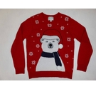 Primark Christmas Jumper Red Size: M