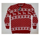 Boohoo Christmas Jumper Red Size: M