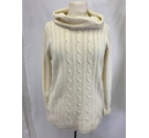 Regatta lovely knitted ribbed jumper cream Size: 12