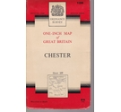 Ordnance Survey One-Inch Map Sheet 109 - Chester