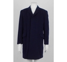 Maitland Wool & Cashmere Blend Coat Navy Size: M
