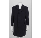 Varteks Pure New Wool Coat Charcoal Size: L