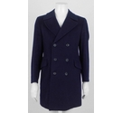 "M&S St Michael 38"" Double Breasted Wool Coat Navy Size: M"