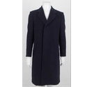 "Hammersley 38"" (R) Wool & Cashmere Coat Dark Navy Size: M"