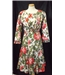 Vintage Droopy & Browns by Angela Holmes size 10 multi-coloured floral dress and jacket