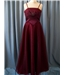Hand made - Size: US 8 / UK 10 / EUR 38 - Burgundy - Dress /  gown