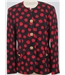 Horst Basler size 12 black/red jacket