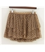 Top Shop Petite Size: 8 Brown Spotty Gypsy Skirt