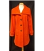 "Country Casuals size 36"" bust orange wool mix coat"