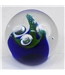 Caithness Triple Crown glass paperweight