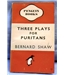 1946 Penguin. Bernard Shaw: Three Plays for Puritans