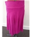 Monsoon Cotton Skirt Size 8 - cerise pink