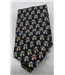 St Michael from M&S navy dog print tie